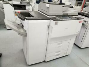 ONLY 6K PAGES PRINTED- ALL INCLUSIVE SERVICE PROGRAM Ricoh MP 6002 Multifunctional Printer Copier for $179/month