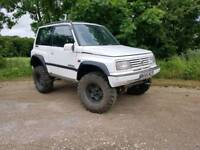 Suzuki vitara off road 4x4 road legal moted