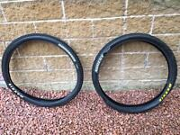 Maxxis Ardent and Crossmark mountain bike tyres - 650b / 27.5