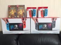 NINTENDO SWITCH CONSOLE BUNDLES - BRAND NEW - RAYMAN LEGENDS