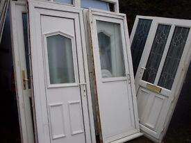 4 upvc doors minters nice and chunky type ready save a packet