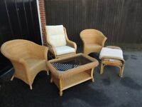 Set of conservatory furniture