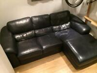 2/3 seat sofa chaise longue arm chair leather 3 seater corner