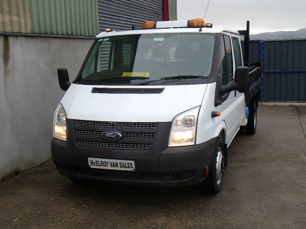 76abbe26fe Ford Transit crewcab tipper. Newry