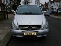 PCO QUICK SALE 2008 Mercedes Vito 111 CDI XLONG 8 Seater PCO FULLY LOADED