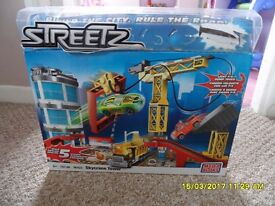 Megabloks (the small bloks for older children) Streetz set