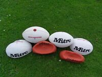 Rugby balls for sale x 6 / New