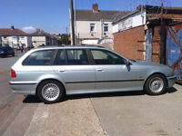 BMW 523i ESTATE FOR SALE spares or repair