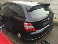 Honda Civic Type R Black Spoiler