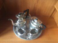 Garrards of London coffee and tea set