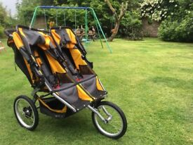 BOB Ironman Sport utility stroller in excellent condition