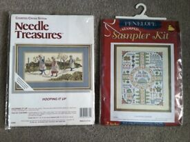 2 x brand new embroidery kits