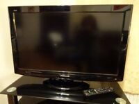 """Panasonic LCD 32"""" Television with freeview, remote control and instructions"""