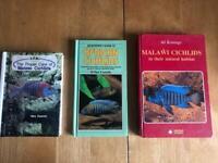 3 Malawi Cichlids books