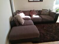 Corner sofa arrangment, can form any shape