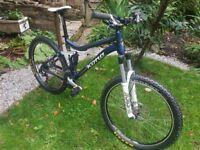 Kona Tanuki Full Suspension Mountain Bike
