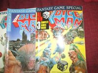 From The Writers Of 2000AD Comes Cris And Dice Man