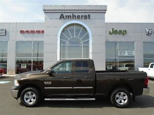 2013 Ram 1500 SXT QUAD V6 1 OWNER, EXTENDED WARRANTY