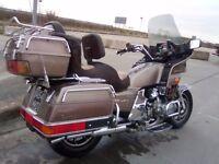 1984 HONDA GL1200 GOLDWING ASPENCADE - LONG MOT - SWAP? SWOP?