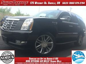 2007 CADILLAC ESCALADE | DVD | VENTED LEATHER | SUNROOF