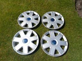 "ford 13""wheel trims (4 x genuine ford trims )BARGAIN"