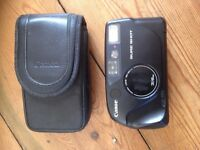 Retro Canon Sure Shot 28/48mm film Camera