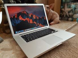 """Apple MacBook Pro 15"""" (1680 x 1050) Quad i7 - 2.7 Ghz - 16 Gb Ram - 750 GB HD - Dual Graphics"""