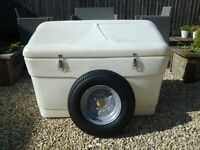 Trailer tent front storage box large sunncamp conway