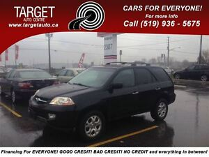 2002 Acura MDX 3.5 Fully Loaded; Leather, Roof, Alloys, AWD and