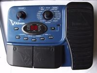 Behringer X V-amp Guitar Effects Pedal. Includes power supply, box and instructions in English.