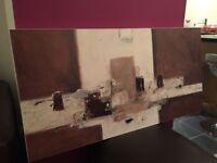 John Lewis Abstract Art Canvas RRP £99