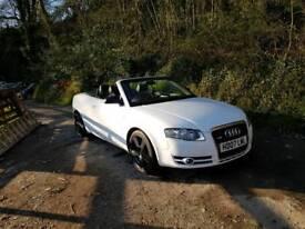 Audi a4 2.0 tdi s line convertable