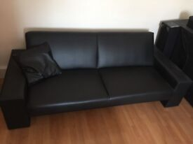 Leather sofa/bed for sale..very good condition