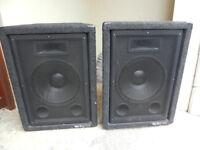 Stage-Line Loudspeakers. (pair).