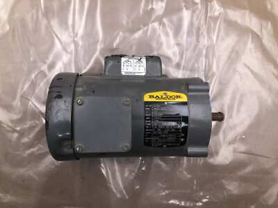 Baldor Vl3504 12hp Electric Motor 1725rpm 115230v 1ph 56c Tefc