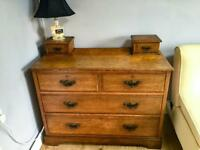 Antique chest of drawers.