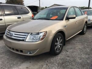 2008 Ford Taurus SEL CALL 519 485 6050 CERTIFIED