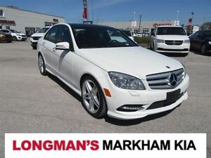 2011 Mercedes-Benz C-Class C350 4MATIC Fully Loaded
