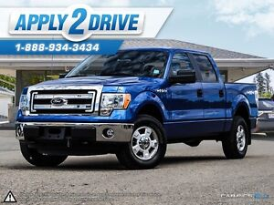 2014 Ford F-150 F150 CREW CAB 4X4 Low Kms
