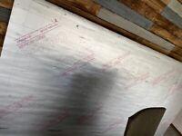 Insulation boards / celotex PIR (3 sheets)