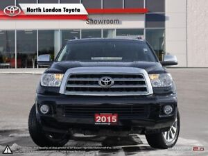2015 Toyota Sequoia Limited 5.7L V8 Pleasant ride with 3rd ro...