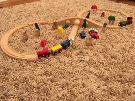 Bigjigs train set