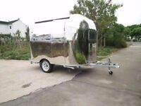 Mobile Catering Trailer Burger Van Hot Dog Ice Cream Cart 3500x2200x2600