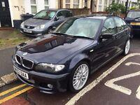 BMW 325I M SPORT 2002 AUTOMATIC FULL BEIGE HEATED LEATHER SUNROOF HARMON KARDON SOUND 10 STAMP CLEAN