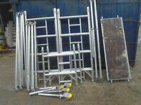 boss narrow scaffold tower