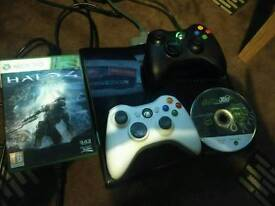Xbox 360 250GB black for sale