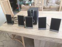 Tevion 5.1 surround sound sound amplifier & speaker system.