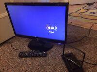 "LG Flatron M2080D 20"" LED HD Monitor TV - £40"