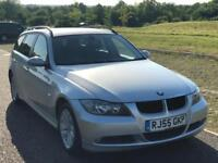 BMW 3 Series 2.0 Diesel 320d SE, 3 M Warranty,Leather Interior,F S History,1 P Owner,Long MOT