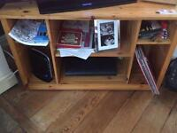 Tv unit with storage space